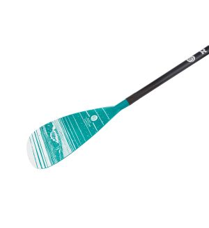 Stand Up Surf Paddle AR83 Carbon Adjustable 3 Parts - Green