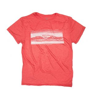T-Shirt Short Sleeve  FIREBRICK