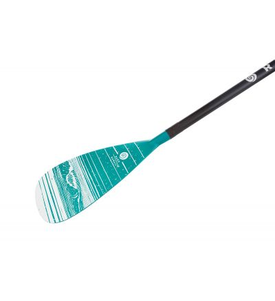 Stand Up Surf Paddle AR83 Carbon Adjustable - Green