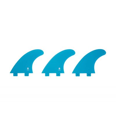 Surf Fins color nylon blue FCS