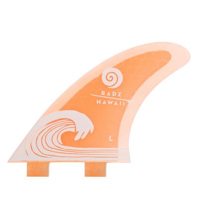 Surf Fins Waikiki L orange FCS