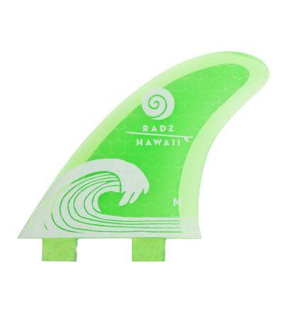 Surf Fins Waikiki M green FCS