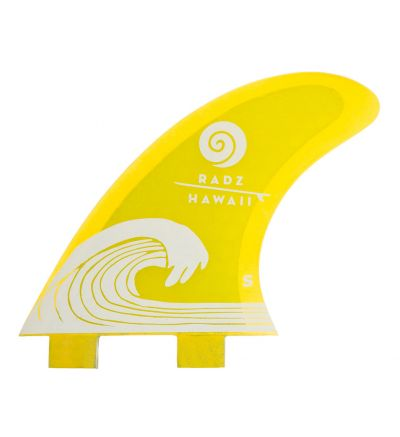 Surf Fins Waikiki S yellow FCS
