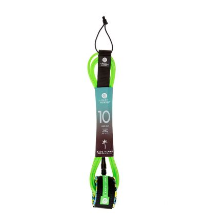 Leash Surf 10' Hard (8mm) - Green