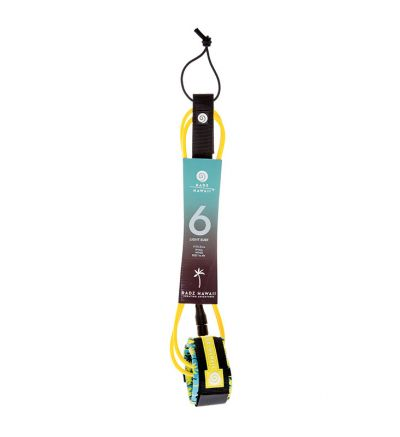 Leash Surf 6' Light (5,5mm) - Yellow