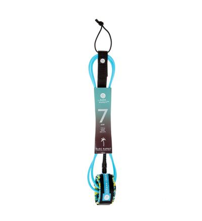 Leash Surf 7' Hard (7mm) - Blue