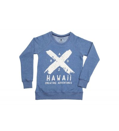 SWEATSHIRT RADZ HAWAII WOMEN X
